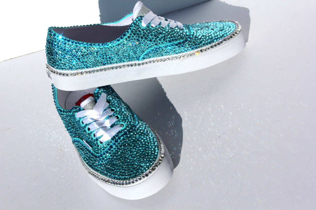 Swarovski Crystal Vans Shoe - Wicked Addiction