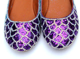 Crystal Ombre Mermaid Flats