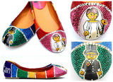 Rainbow Bridal Crystal Flats - Wicked Addiction