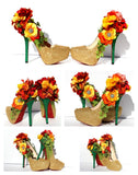Custom Fall Wedding Heels - Wicked Addiction