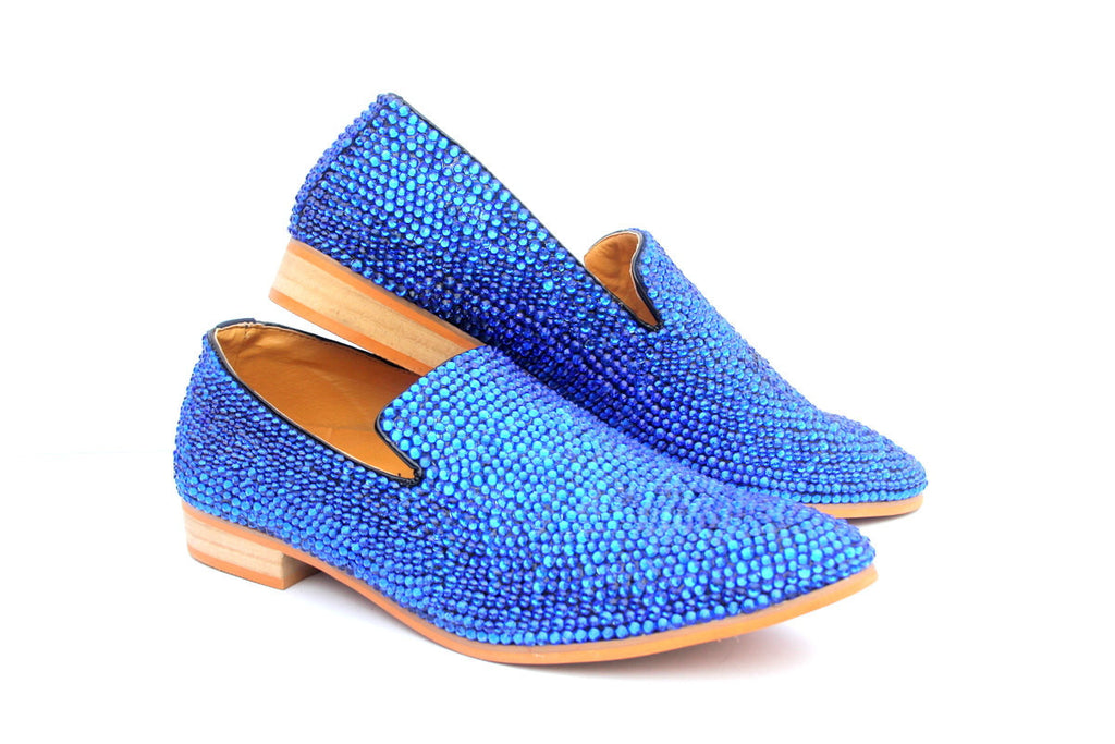 Swarovski Crystal Men's Loafer in Color of Choice - Wicked Addiction