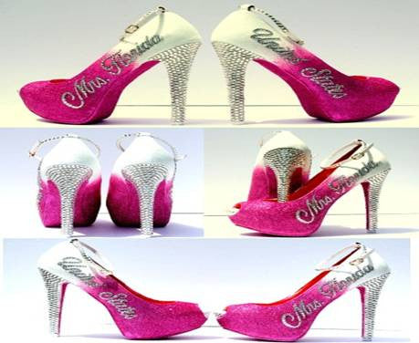 Pageant Title Holder Heels