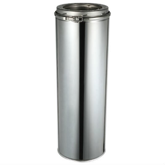 ComfortBilt Double Wall Stainless Steel Chimney 6-Inch x 48-Inch