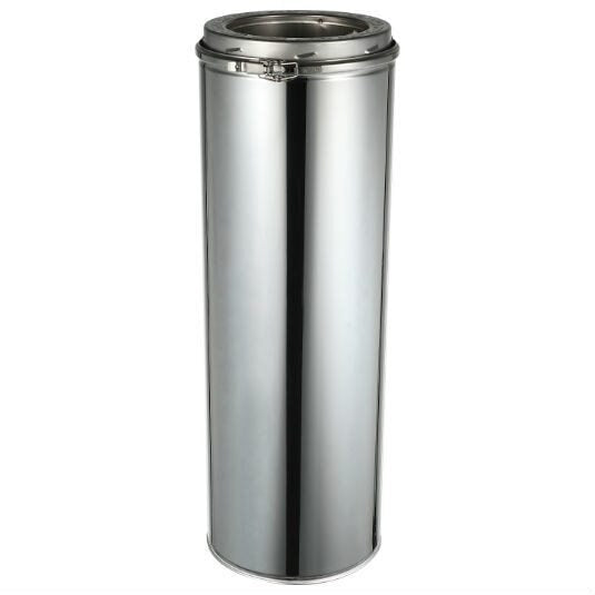 ComfortBilt Double Wall Stainless Steel Chimney 6-Inch x 36-Inch