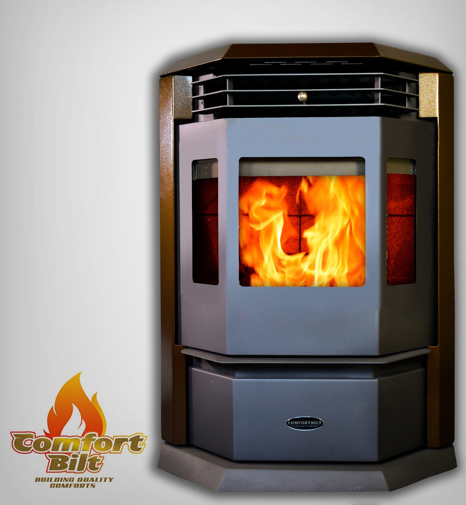 ComfortBilt HP22 Pellet Stove Golden Brown