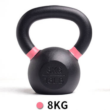 Cast Iron Powder Coated Kettlebells