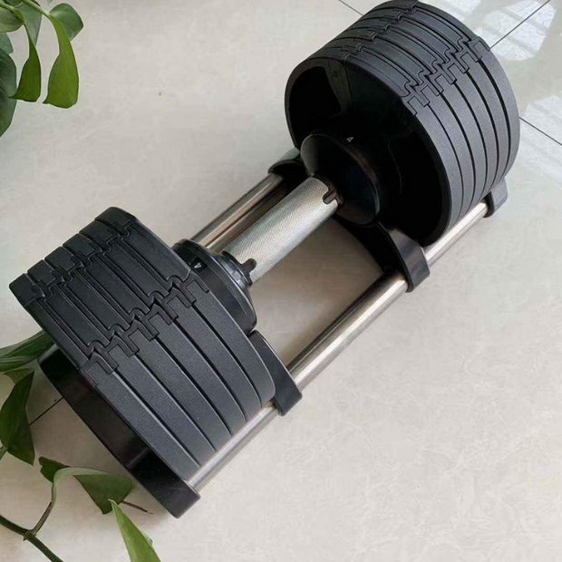 Dumbbells Adjustable Weight Set (2 X 32KG) - PRE-ORDER EARLY SEPTEMBER-RUG & RIG Compact Home Gym