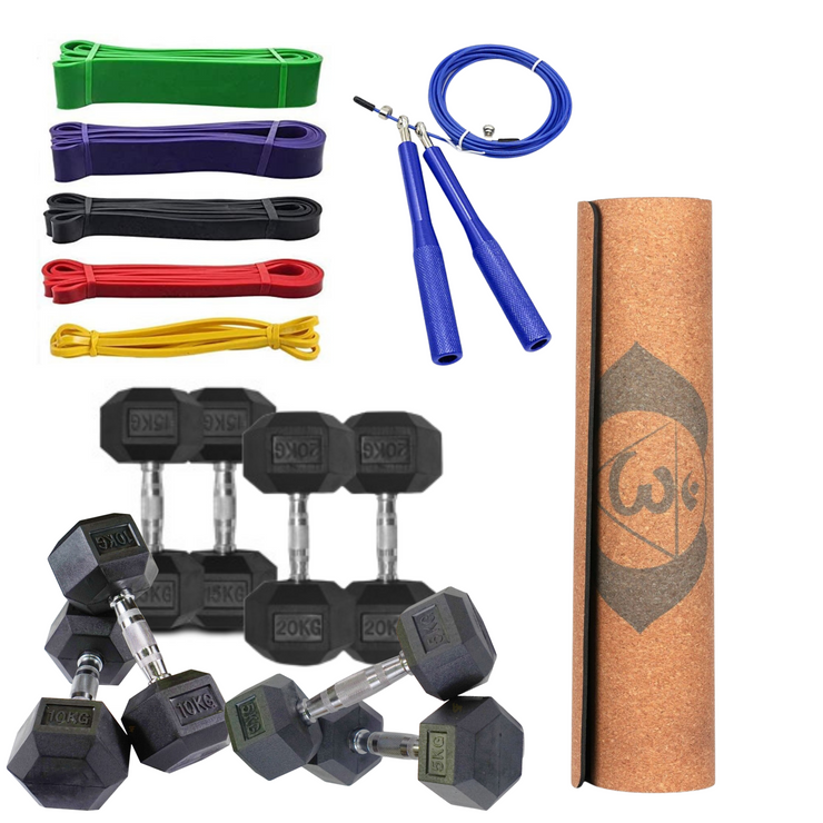 Hex Dumbbell Commando Pack