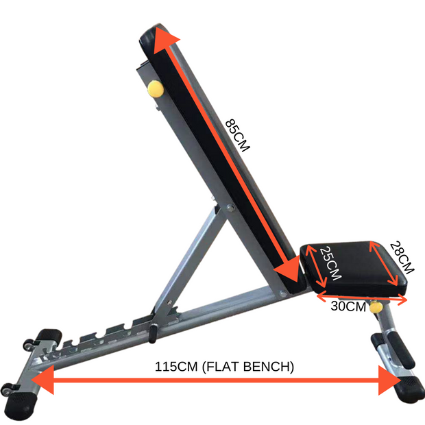 Rug & Rig Adjustable Bench 6 Angle Adjustment - (IN STOCK)