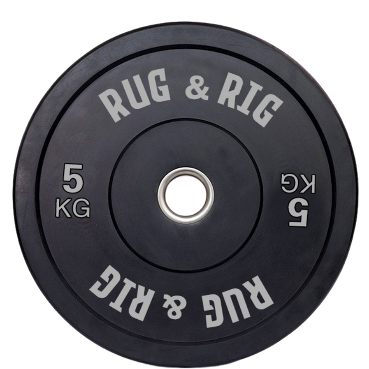 80KG Olympic Bumper Plates and Barbell (20KG) Set