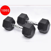 Rubber Dumbbells - PRE ORDER MID SEPTEMBER-RUG & RIG Compact Home Gym