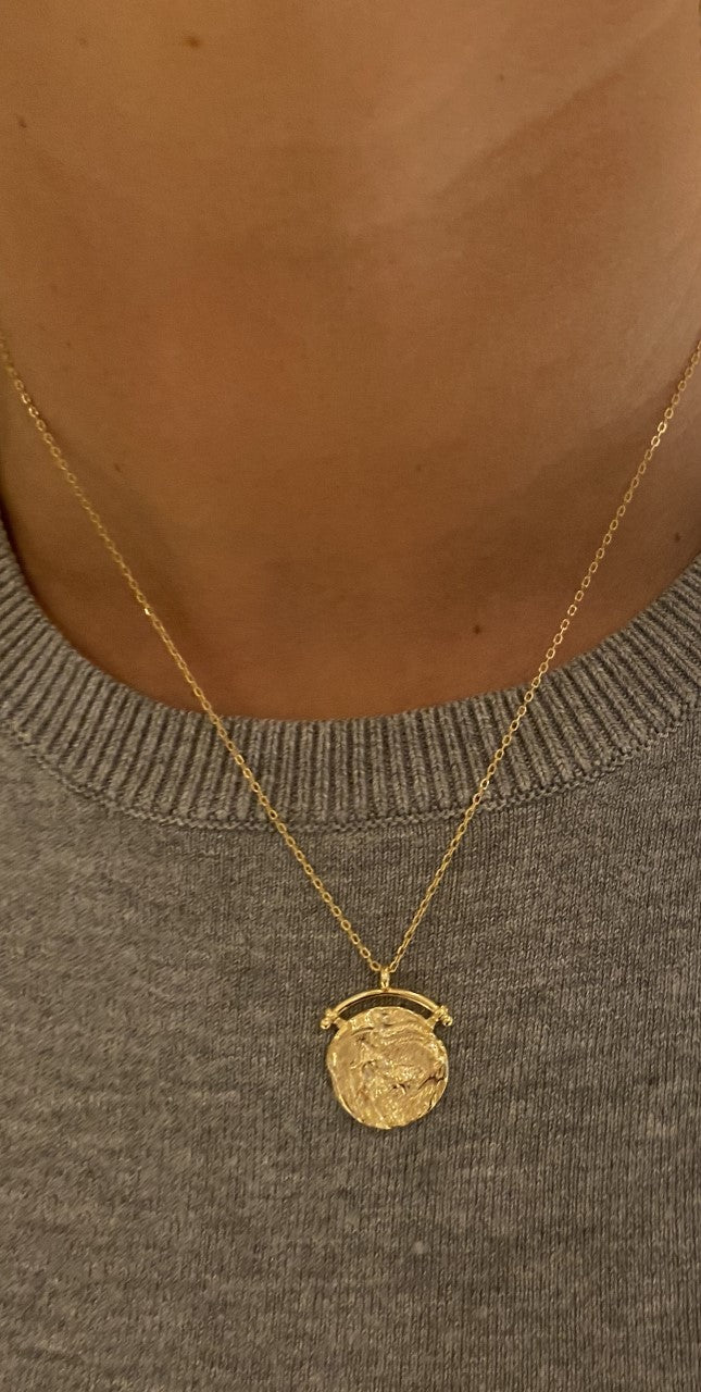 Gold Jojo Necklace