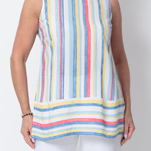 Load image into Gallery viewer, East Athena Stripe Vest Top