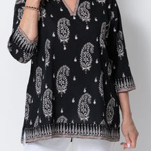 Load image into Gallery viewer, East Sinai Print Mirror Kurta Top