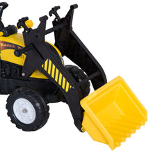 Load image into Gallery viewer, HOMCOM Kids Pedal Go Kart Excavator-Yellow