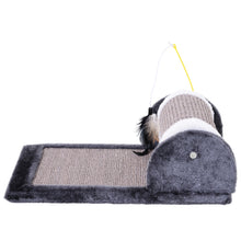 Load image into Gallery viewer, PawHut Cat Scratching Pad, 45Lx25Wx16H cm-Grey