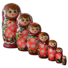 Load image into Gallery viewer, 7 Piece Large Matryoshka Doll