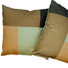 2 x Modern Colours Cushion Covers Cotton Square Premium Soft Furnishing, Sofas, Beds, Indoor, Outdoor 45 x 45 cm