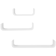 Load image into Gallery viewer, HOMCOM 3 pcs U Shaped Shelves Set-White