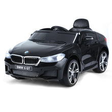 Load image into Gallery viewer, HOMCOM Kids Electric Ride On Car 6V Licensed BMW 6GT W/ Remote-Black