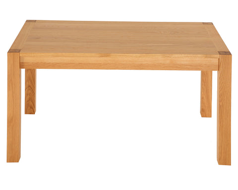 Devonshire Natural Solid Oak Rectangular Dining Table
