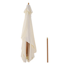 Load image into Gallery viewer, Outsunny 3x2m Wooden Patio Parasol Umbrella-Cream