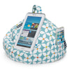 iBeani iPad Cushion & Tablet Pillow Stand - Securely holds any size tablet, eReader or book upto 12.9 inches, hands free comfort at any angle on any surface - Geometric