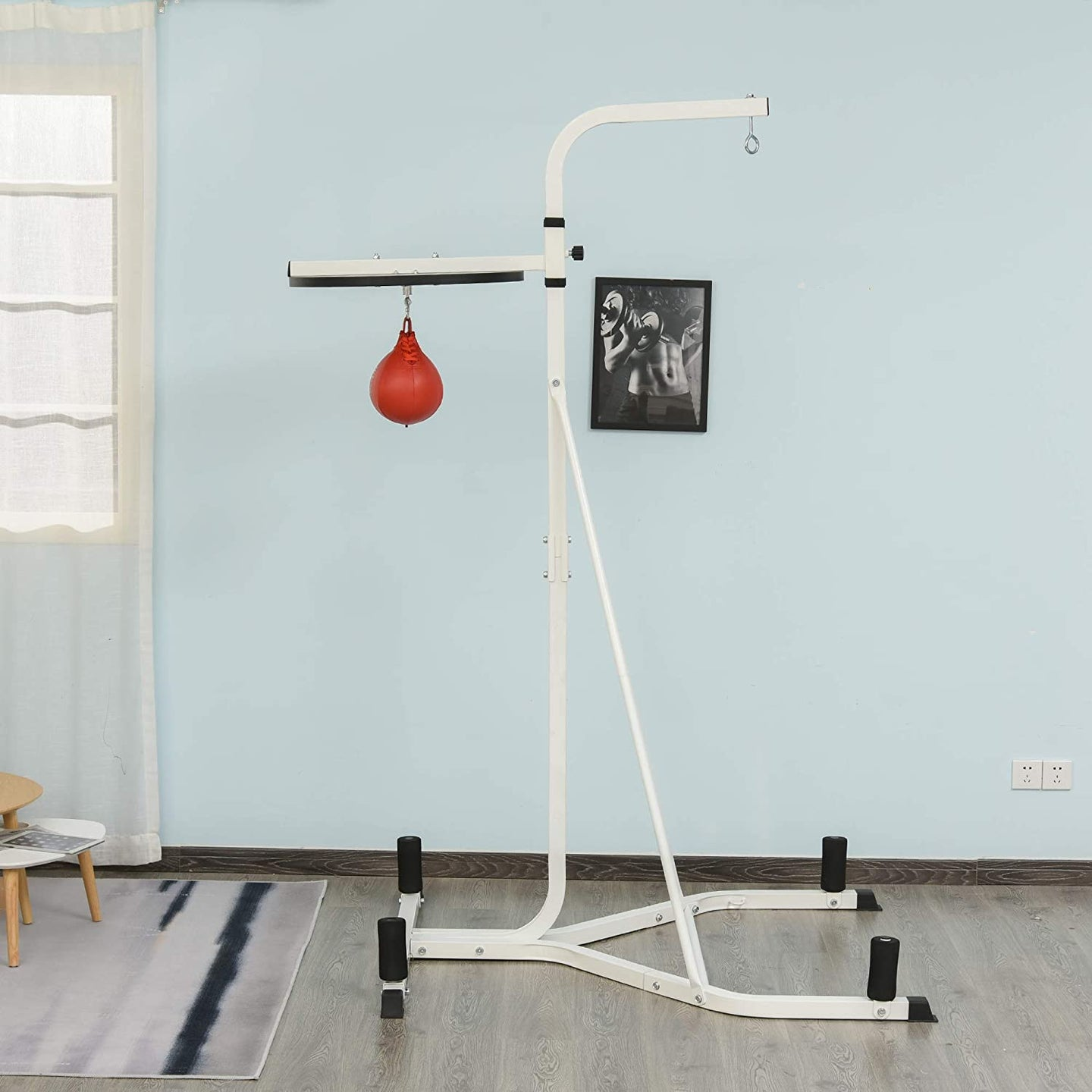 HOMCOM Free-Standing Speed Bag