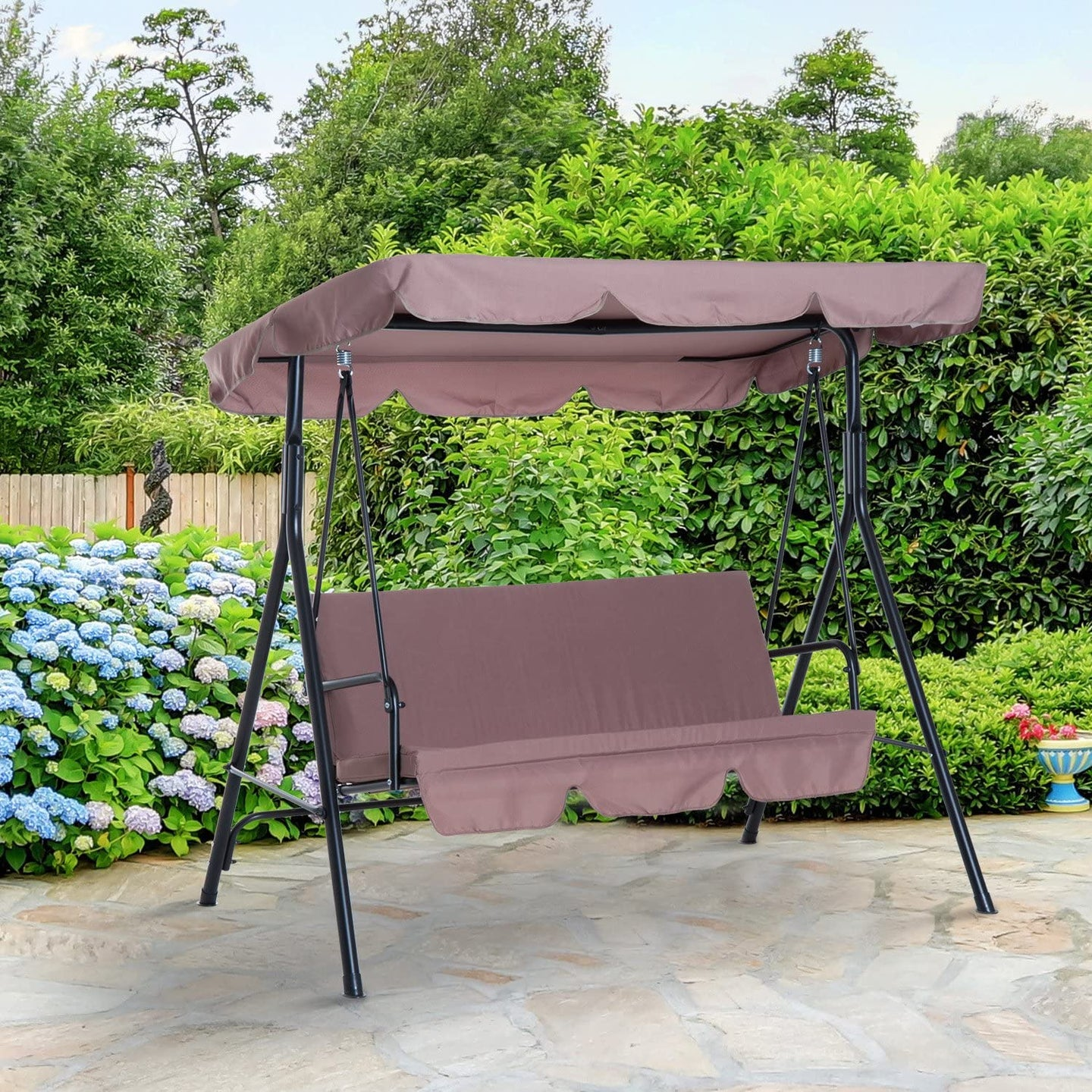 Outsunny 3 Seater Swing Chair