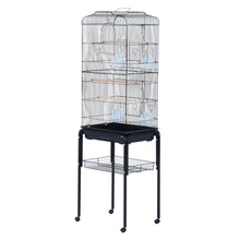 Load image into Gallery viewer, PawHut Large Pet Bird Cage Parrot Cockatiel House, 47.5Lx37Wx153Hcm-Black