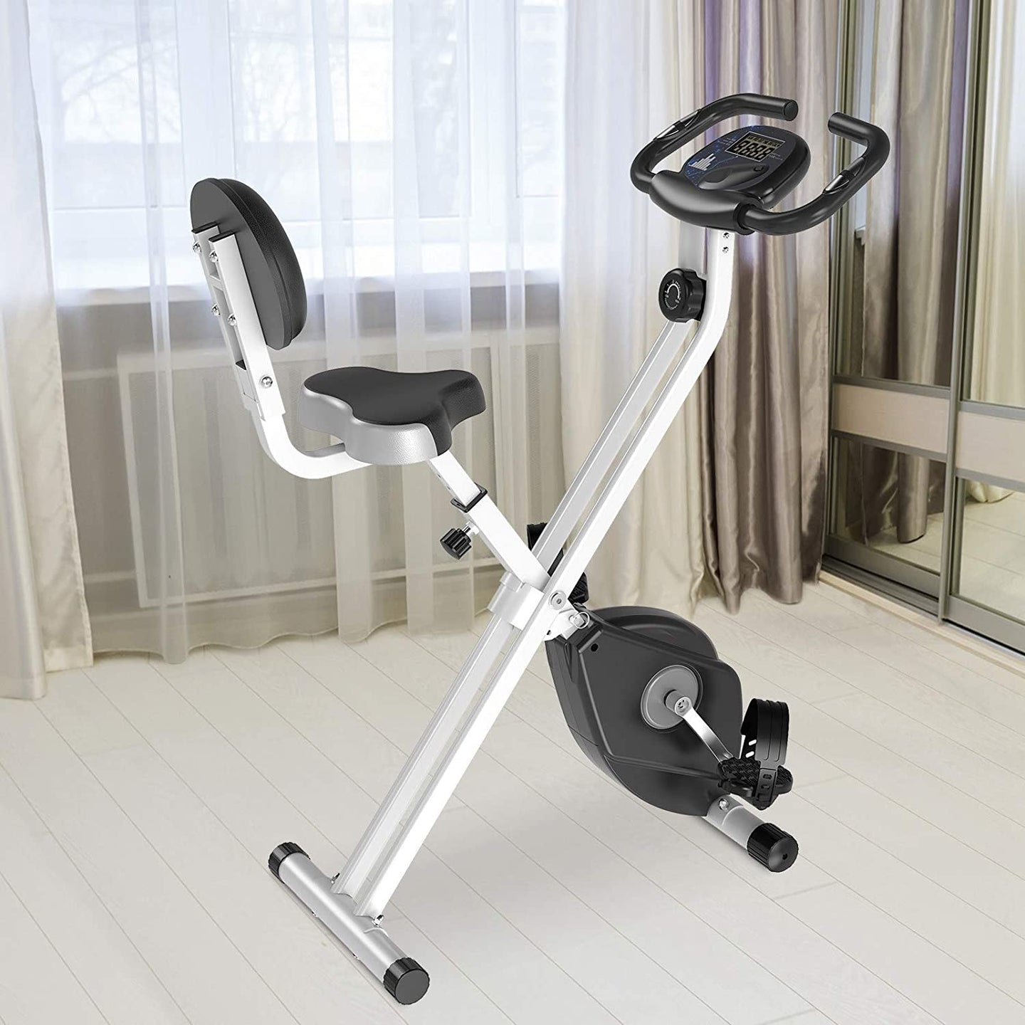 HOMCOM Magnetic Resistance Exercise Bike