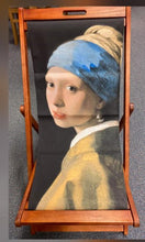 Load image into Gallery viewer, Deckchair Girl with Pearl Earring