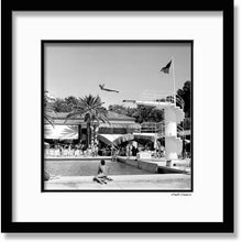 Load image into Gallery viewer, La Vigie Club, Monaco - Framed B&W photograph