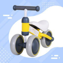 Load image into Gallery viewer, HOMCOM Toddler Tricycle-Yellow