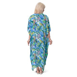 East Castara Print Kaftan Dress