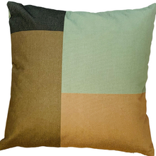 Load image into Gallery viewer, 2 x Modern Colours Cushion Covers Cotton Square Premium Soft Furnishing, Sofas, Beds, Indoor, Outdoor 45 x 45 cm