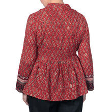 Load image into Gallery viewer, Anokhi Bagru Cotton Booti Print Jacket