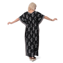 Load image into Gallery viewer, East Sinai Print Mirror Kaftan Dress