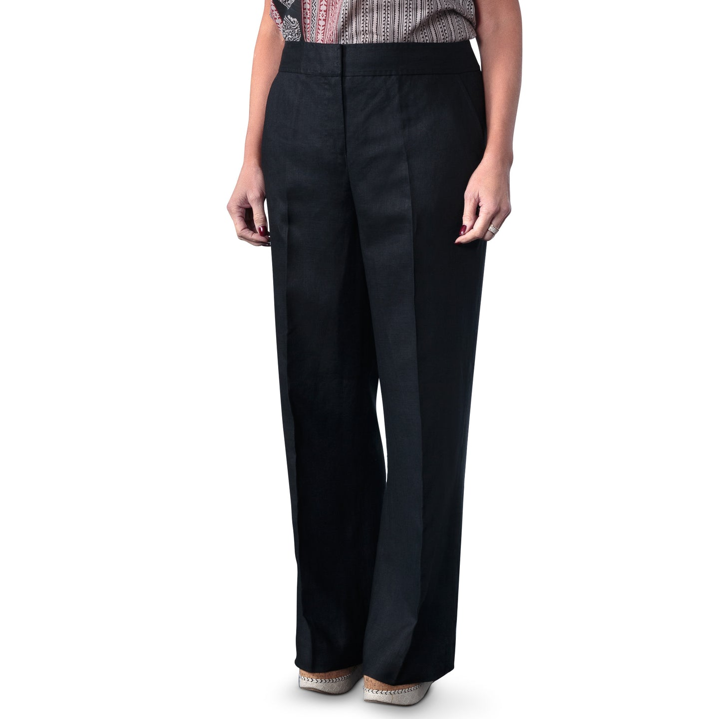 East Victoire Linen Wide Leg Trouser