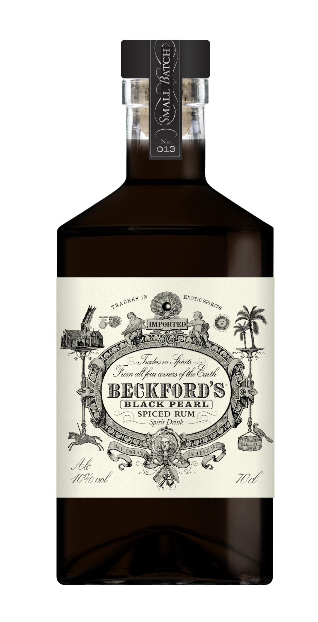 Beckford's Black Pearl-Spiced Rum