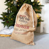 Personalised Christmas Santa Sack