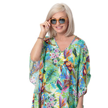 Load image into Gallery viewer, East Silk Castara Print Kaftan Dress