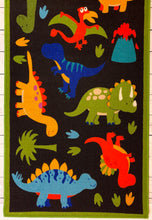 Load image into Gallery viewer, Dinosaur 2013 Polyester Area Rug Floor Carpet Anti Slip Playmat Soft Super absorbent Educational Nursery Rug 150 x 80 cms