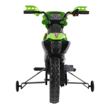 Load image into Gallery viewer, HOMCOM Kids Electric Motorbike Child Ride on Motorcycle 6V Battery Scooter (Green)