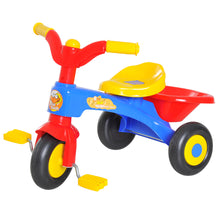 Load image into Gallery viewer, HOMCOM Kids Ride On Tricycle, 60Lx42Wx45H cm-Multicolour