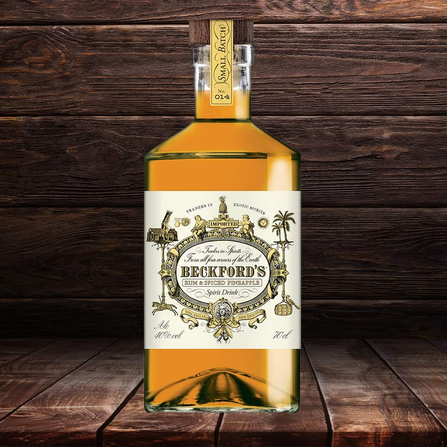Beckford's New Pineapple Spiced Rum