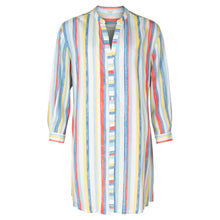 Load image into Gallery viewer, East Athena Stripe Shirt Dress