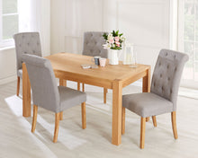 Load image into Gallery viewer, Devonshire Natural Solid Oak Rectangular Dining Table