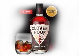 Cloven Hoof Spiced Rum 38% ABV