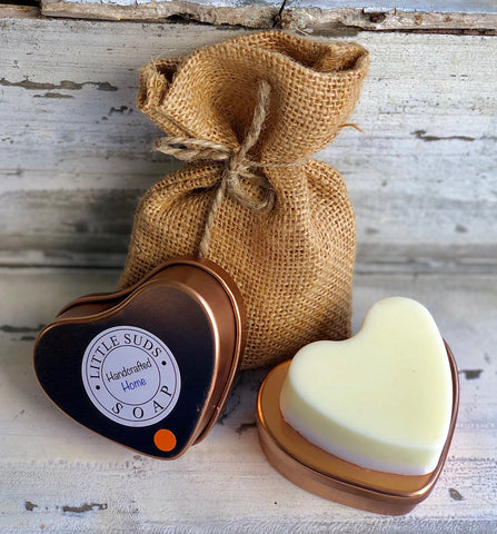 Summer Soother Big Heart Soap